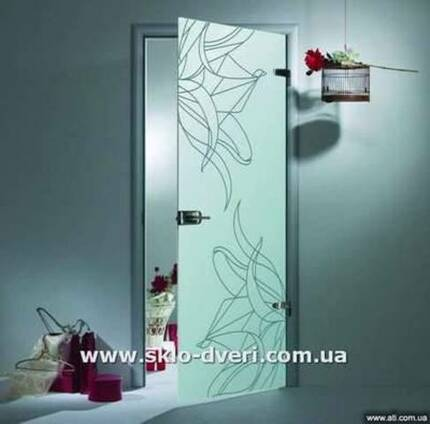 Стеклянные двери Харьков