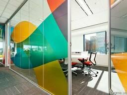 Стеклянные перегородки для офиса и дома из закаленного стекл