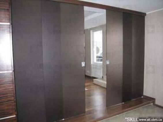 Стеклянные раздвижные двери StoneGlass