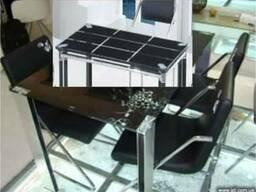 Стеклянные столы для кухни TB014 отзывы, столы TB014 Киев