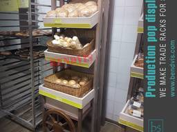 Стеллажи для хлеба и хлебобулочных изделий