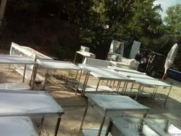 Мебель из нержавеющей стали - столы, мойки, стеллажи, полки