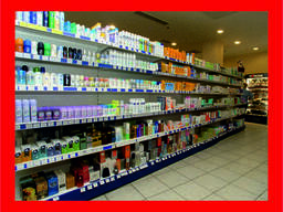 Стеллажи торговые для магазинов бытовой химии, хоз товаров