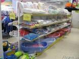 Стеллажи торговые для магазинов бытовой химии, хоз товаров - photo 3