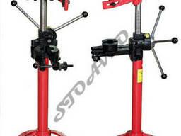 Стенд для стяжки пружин амортизаторов, механический
