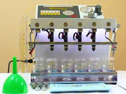 Стенды очистки бензиновых форсунок серии Sprint-6
