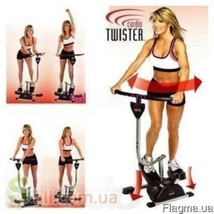 Степпер Cardio Twister, домашний тренажер для всего тела Кар