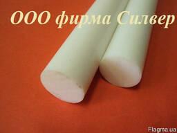 Капролон стержень 20 мм, 25мм, 30 мм