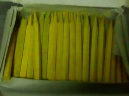 Стержни восковые желтые 150 штук.