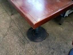 Стіл дерев'яний на металевій опорі бу