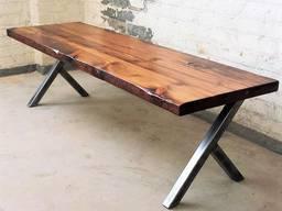 Стіл масивний для офісу, стіл на замовлення, стіл лофт