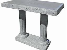 """Стіл """"Парковий"""", бетонний, вуличний, L980*b500*h780"""