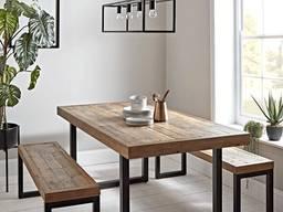 Лофт комплект меблів, комплект на замовлення, лофт стіл