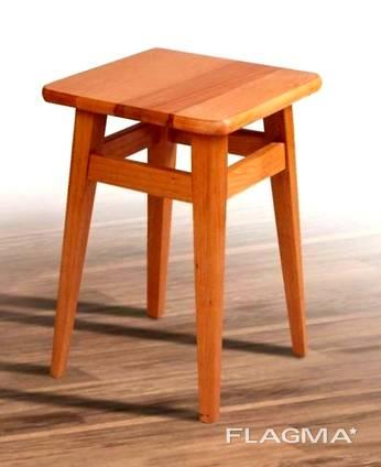 Стілець дерев'яний 45см або 55см Бук
