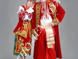 Стилизованный украинский костюм