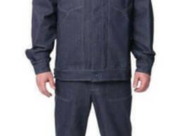 Костюм рабочий джинсовый, спецодежда для инженера
