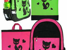 Школьный комплект рюкзак и сумка для обуви, сменки для. ..
