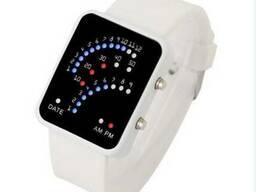 Стильные электронные часы с датой OHSEN Speedometr Kids.