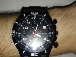 Стильные спортивные мужские часы механические. Часи наручні