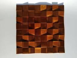 Стінові 3D панелі з дерева Wood Rock