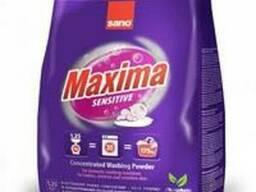 Стиральный порошок Sano Maxima Sensitive, 1,25 кг