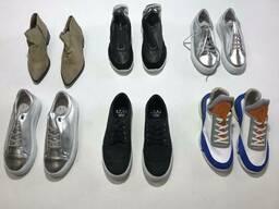 Стоковый микс из женской и мужской кожаной обуви от Датского бренда ETAL сток оптом. ..