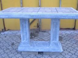 Стол Большой, столешница мозаика. Размер L1320*b660*h800 mm . Вес 128 кг