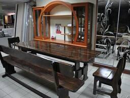Стол деревянный дачный 1500*800