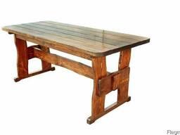 Стол деревянный дачный 1800*800