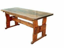 Стол деревянный дачный 1600*800 для кафе, дачи