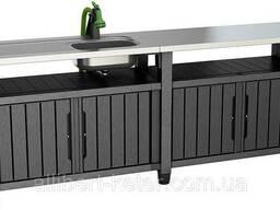 Стол для гриля, барбекю Keter Unity Chef 415 L Graphite ( графит )