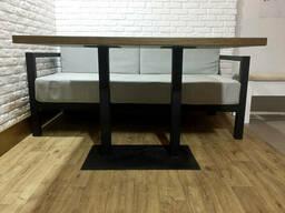 Деревянный стол для кафе из массива 140х80