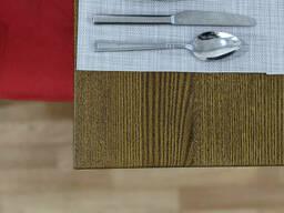 Комплект стол и стулья для кафе из натурального дерева