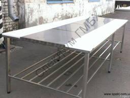 Стол для разделки мяса двухсторонний 3000х1200х850