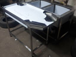 Стол для сортировки калибровки из нержавейки для ягод, овощей, орехов