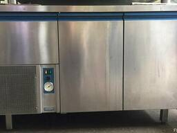 Стол холодильный б/у 2 двери 1 ящик Dexion Италия 6 мес