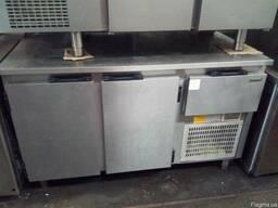 Стіл холодильний б/у дводверний з досвідом роботи в кафе, ре