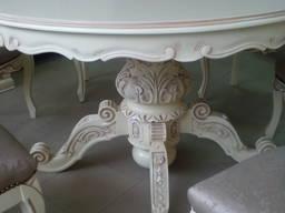 Стол и 6 стульев барокко