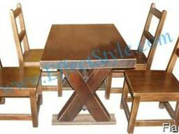 Стол и стулья для паба и бара. Комплект СК1- ТОП