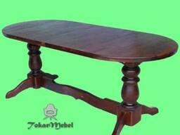 Стол из дерева для кухни Аврора, 160х80