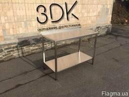 Стол из нержавейки купить, стол металлический 1 м