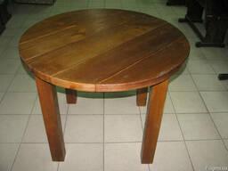 Стол круглый деревянный 1000*750