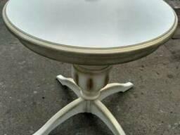 Стол круглый , кухонный стол из дерева