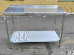 Стол металлический 1700х600