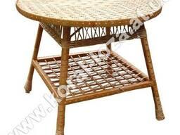 Стол плетеный из лозы 1224кр80-34