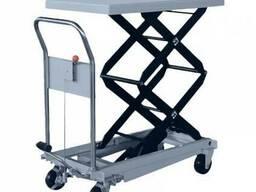 Стол подъемный гидравлический ручной 350кг-1300мм
