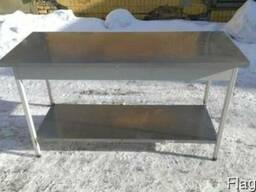 Стол производственный бу, металлический стол для кухни кафе