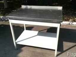 Стол разделочный из нержавейки, производственный стол бу