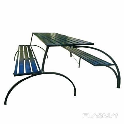 Стол-скамейка лавочка трансформер для пикника