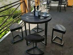 "Стол. Стул. Кофейный столик. Стол для дачи. ""Солнце"""